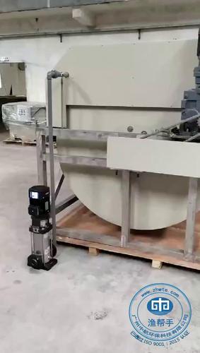PS系列大型不锈钢滚筒微滤机